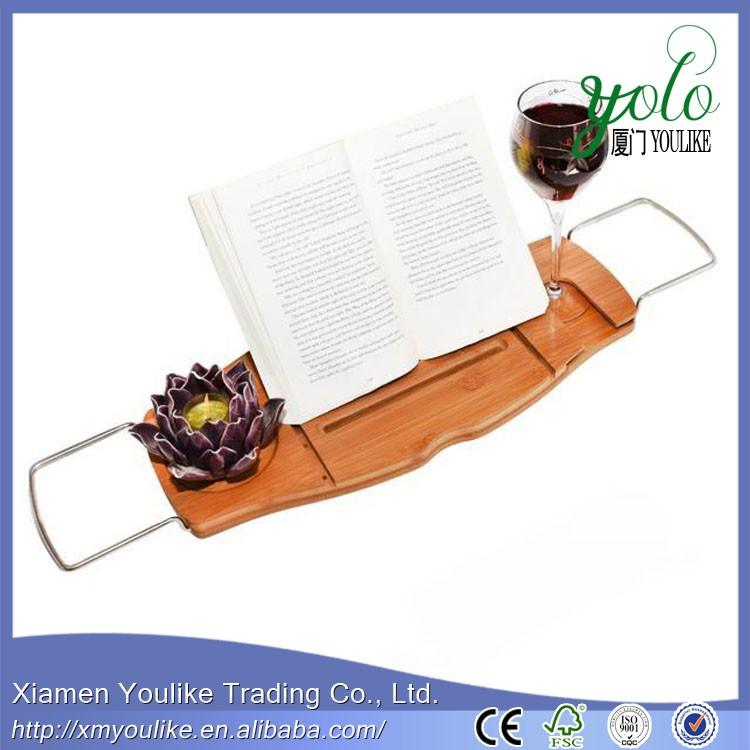 Luxury Bamboo Bathtub Caddy 1.jpg