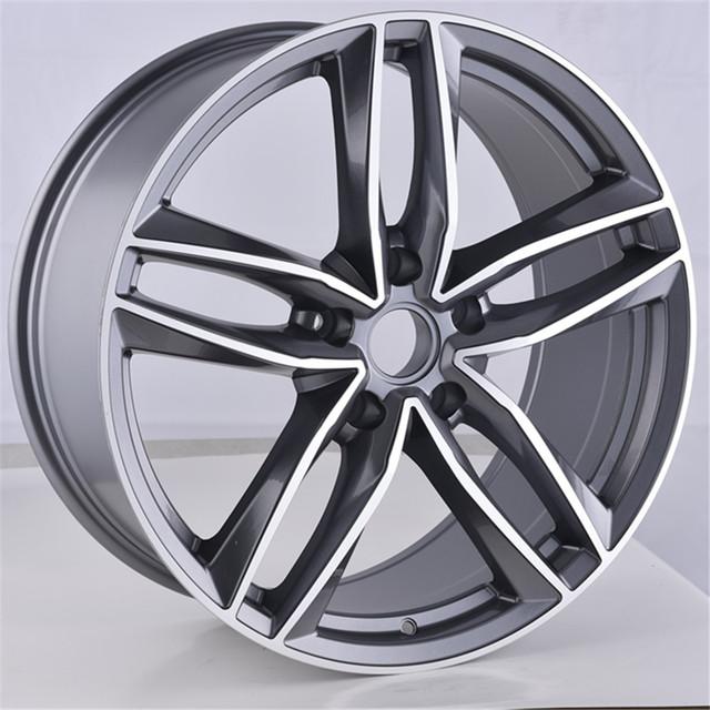 JWL VIA Size 17 18 19 20 Inch Gunmetal Machined Replica alloy wheel Aluminum wheel