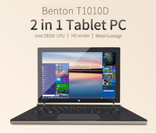 High Quality Fast Delivery 10.1 Inch Laptop Intel Cherry Trail Z8350 2GB/4GB RAM 32GB 2in1 Tablet PC with competitive price
