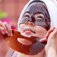 Black coffee face mask cocoa faice mask collagen crystal