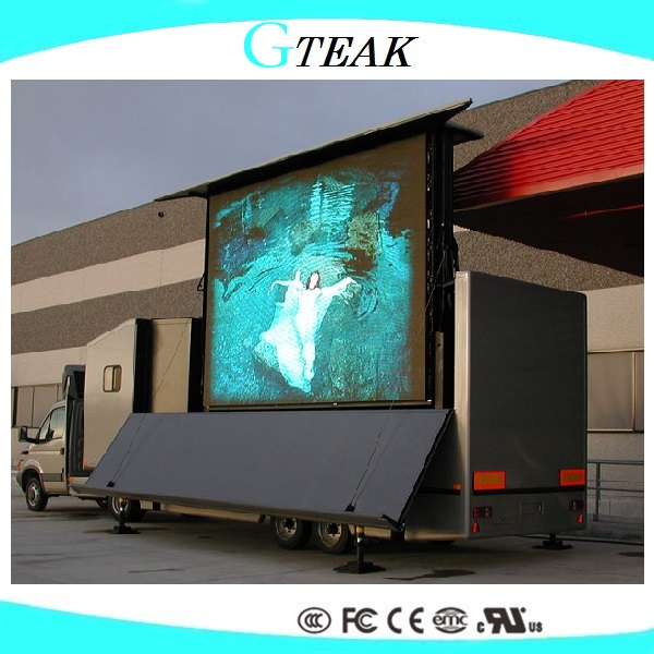 shenzhen mobile led screen trailer for the outdoor advertsiing