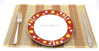 Premium quilted bamboo restaurant placemat and table mat