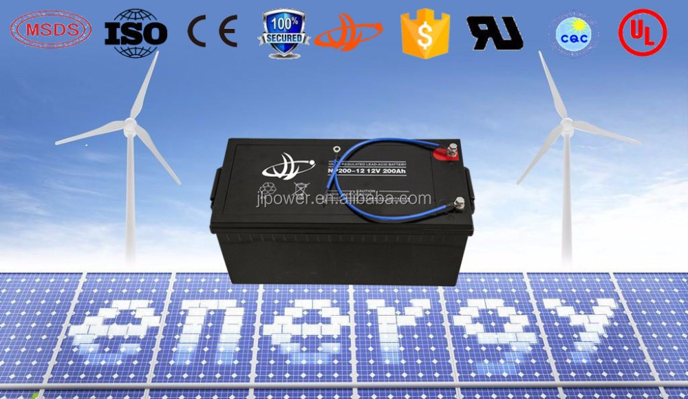 energy supply power battery 12v 200ah electrical truck battery power plants use battery
