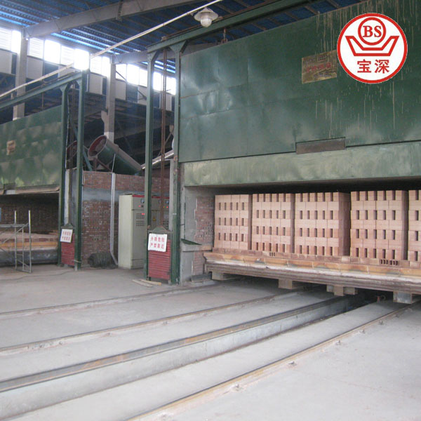 Mini Tunnel Kiln Clay Brick Making Machine