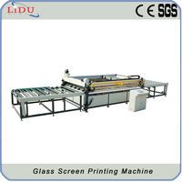 Automatic Glass Printing Equipment Glass Screen