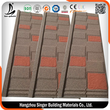 Kenya Stone Coated Metal Roofing Tile With South Korea Standard