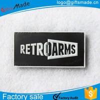 Wholesale fashion custom embossed label leather patch for leather sofa