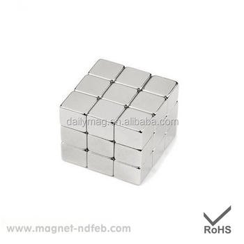 Small Box Shape Permanent Magnet