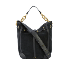 Versse wholesale italian suede hobo handbags high quality pu leather tote bag