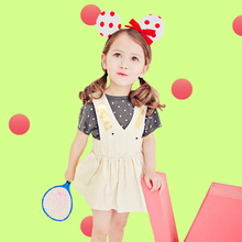 Kid Wear Korea Children's Summer Beautiful Dresses For Young Girls