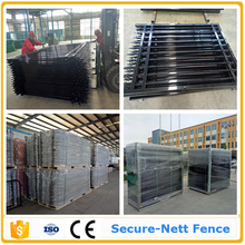 25 years lifetime industrial fencing palisade fence