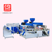 pe plastic foaming extruder bubble cushion film production line 200w big bubble machine