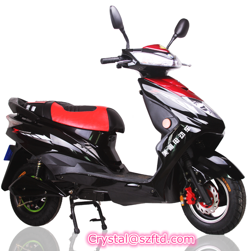 China High Quality 60V 20ah 1500W E Motorcycles Electric Scooter