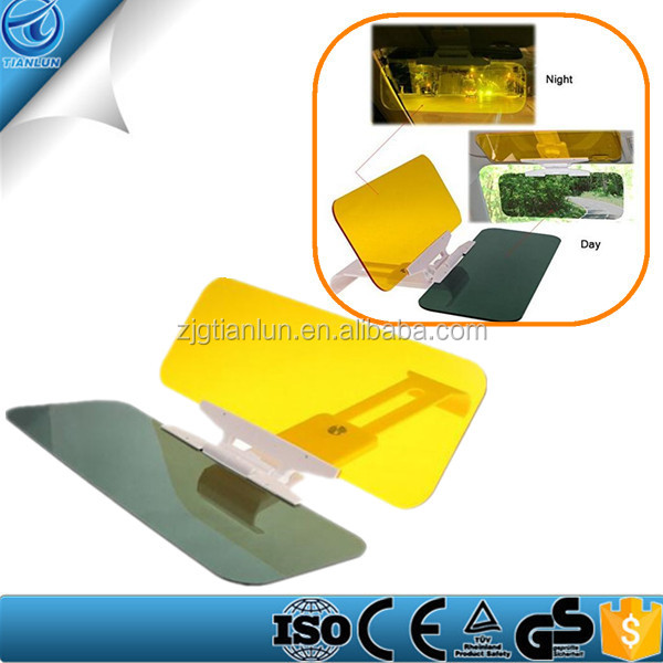 TLSS-01 2 in 1 Car Automobile Sun Anti-UV Block Visor Day and Night Non Glare Anti-Dazzle Sunshade Mirror Goggles
