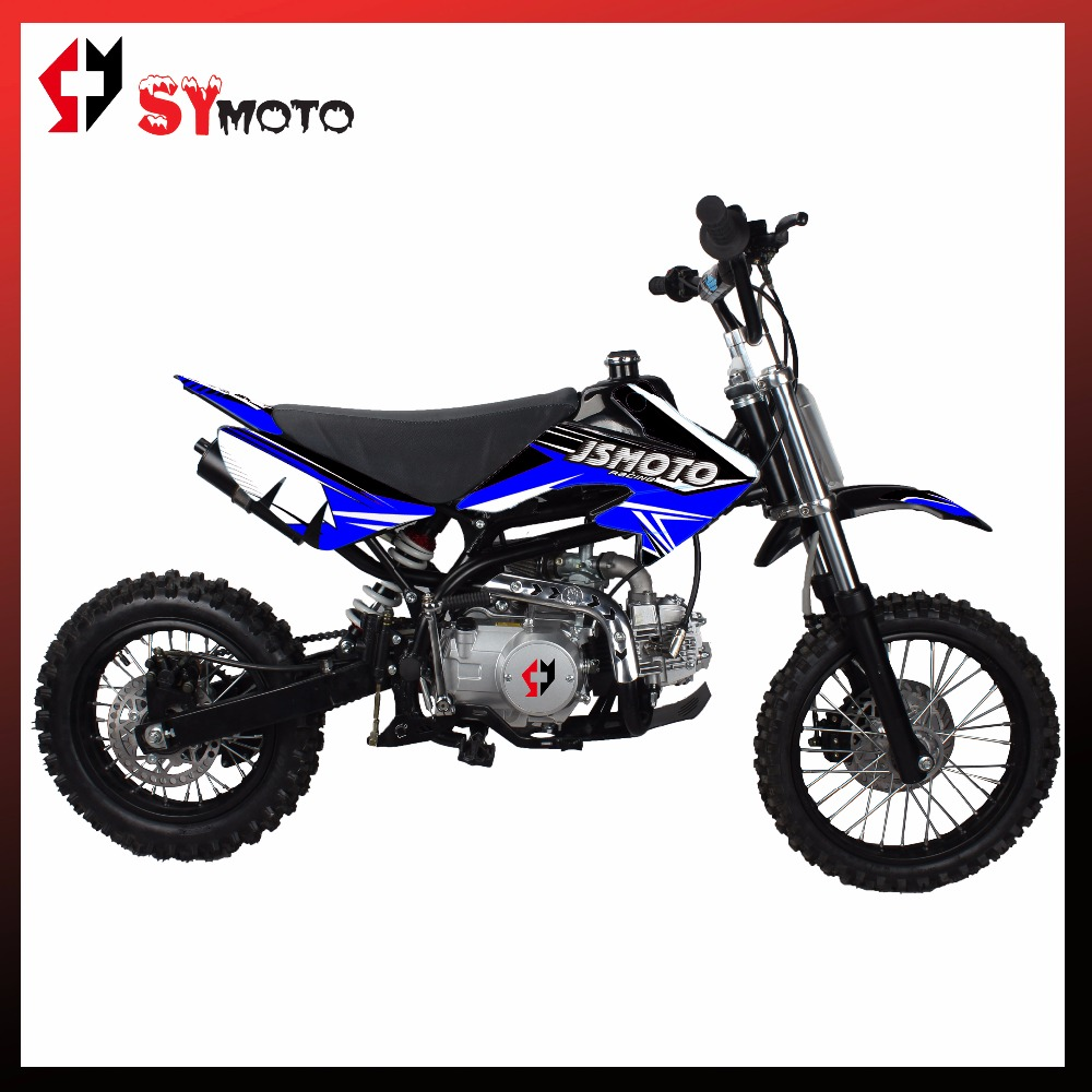 125cc EPA dirt bike mini moto motorcycle 125cc pit bike 4stock lifan125cc engine SYMOTO
