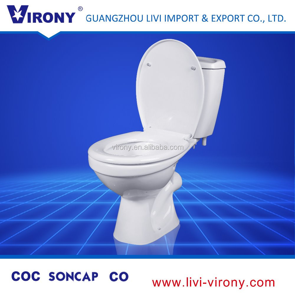 wall mounted floor stand two piece wc toilet for kids