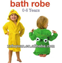 hot sale bathrobe for baby, top quality
