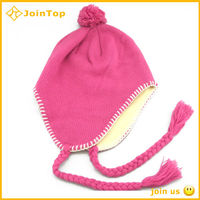 Crochet Animal Knitted Beanie Hat With Earflaps Pattern
