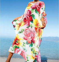 NEW STOCK Chiffon Print Long Style Sexy Beach Dress
