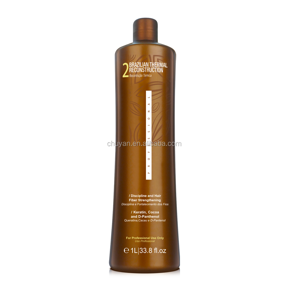 OEM/ODM 1000ML Brazilian keratin Ammonia free hair treatment straightening cream