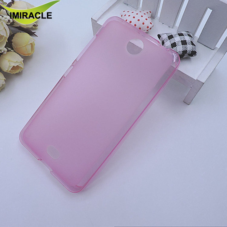 Colorful Pudding Case Matte Soft TPU Back Cover For Nokia Lumia 430 Cellphone Accessories