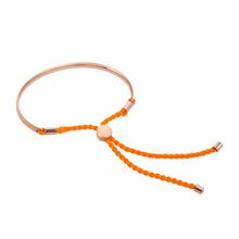 Orange Rope Fancy Friendship Handmade Bracelets
