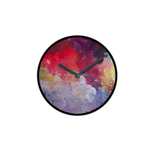 luxury decorative art painting home wall clock cheap price