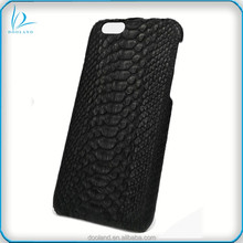 Luxury Quality Handmade Authentic Real Python Snake Skin Case Cover for iphone6, exotic skin mobile phone case