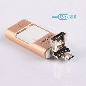 2018 3in1 128GB Otg Usb Flash Drive For Iphone And Android
