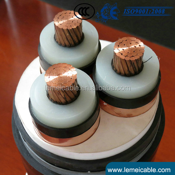 0.6/1kv low voltage cables 16mm2 95mm2 180mm2 copper conductor XLPE insulated PVC sheathed power cable