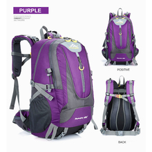 2017 Outdoor Backpack 40L sports Hiking Cycling Bag Climbing Waterproof Travel Backpack Big Load Knapsack BDRW-1620-3