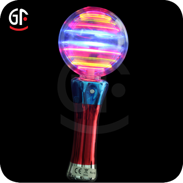 Promotional Gifts Supply Multicolored Flash Led Spinning Toys For Kids