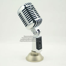 Professional Wired Vintage Microphone For Broadcasting KTV DJ Karaoke Studio Recording Stage Performance etc