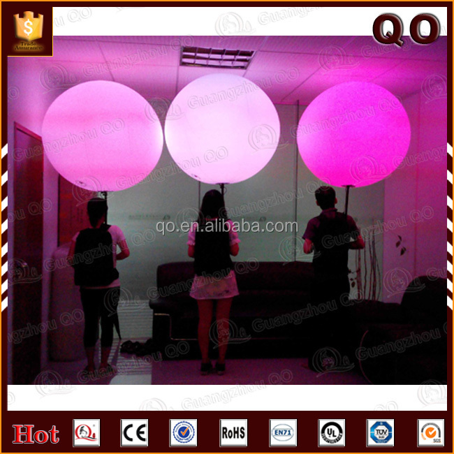 New products stage walking inflatable back pack balloon