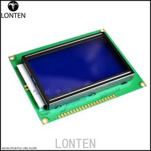 Fast shipping LCD Board 12864 LCD12864 5V display With Chinese word stock with backlight 12864-5V ST7920 Parallel port