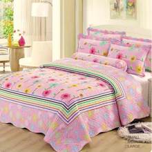 Embroidery Bright Color Comforter Sets Luxury Bedding, Cotton Turkey Comforter Sets