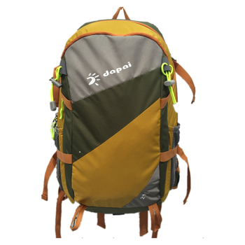 Green Strip Brand Men Pro Outdoor Adventure Backpack