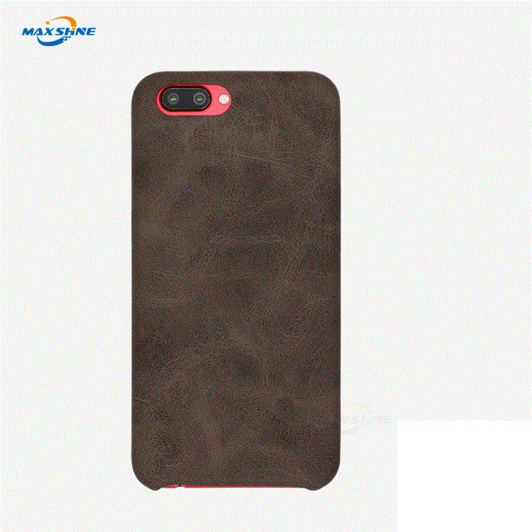 Maxshine Genuine Leather Mobile Phone Case For Iphone 8 Plus X Xr Xs Max