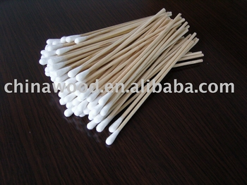 Disposable Single Tipped Cotton Applicator