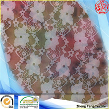2014 new design floral digital printing polyester burnout fabric for lady