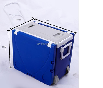 Hot Sale Foldable Cooler Box with table Camping Cooler Box