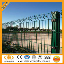 Free samples low price high quality china supply green coated welded metal fencing panels