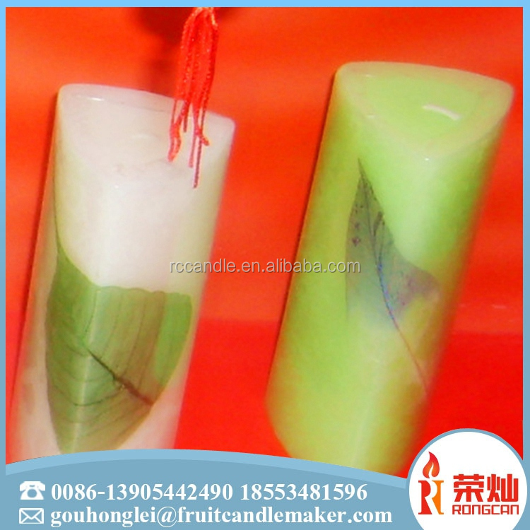 2017 hot new products wholesale home decoration church pillar religious candle
