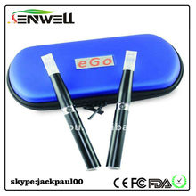 Refillable cartridges E-cigarette ego-t with ego-tank atomizer