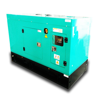 50HZ 3 phase 400 voltage 10 kva to 225kva super silent diesel generator price with water-cooled engine