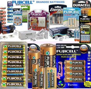 Full Range of Batteries, Alkaline, Heavy Duty, Micro & Lithium