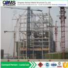 Prefabricated engineered metal big steel structure building fabrication service