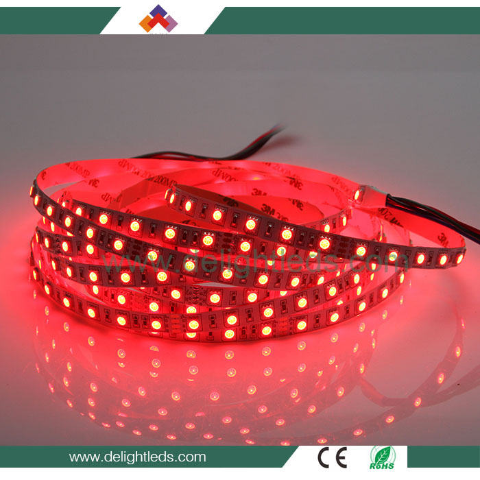 Delighted manufacturing flexible tv backlight led strip light 5050 customized for sale