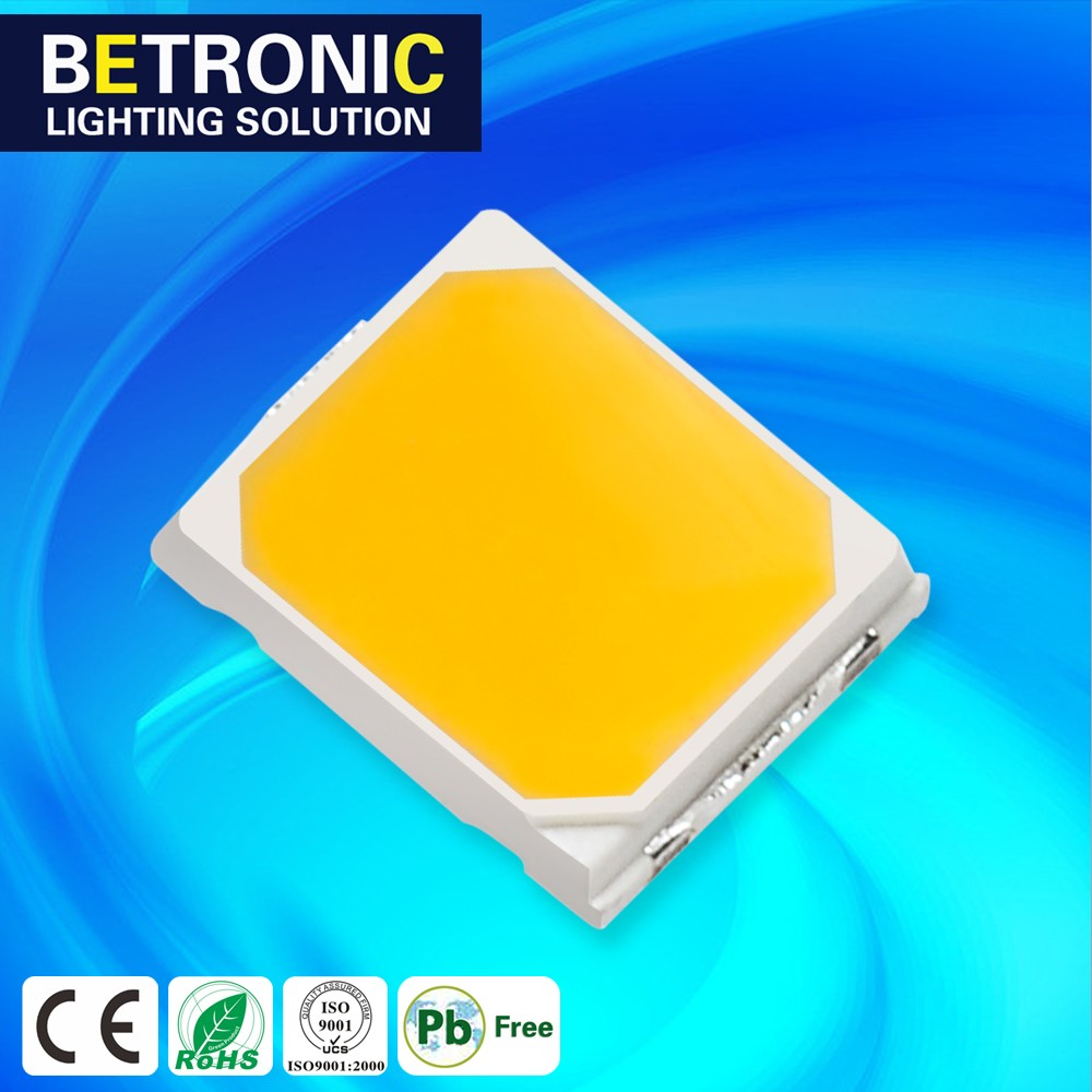 SMD LED CHIP 0.2W WARM WHITE 2800-3200K LED LIGHT LED DIODE 2835 SMD LED LIGHTING COMPONETS