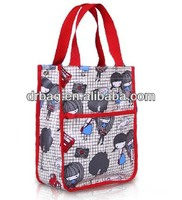 Canvas Waterproof Student Tote Bags Shopping Bags